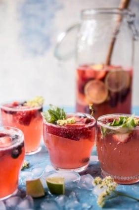 Summertime Rose Tequila Sangria Amorada Tequila Recipe