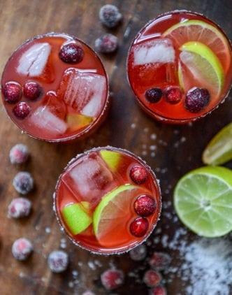 Merry Cranberry Margarita Amorada Tequila Recipe